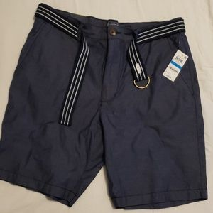 Mens american rag shorts navy 36 slim fit